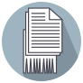 Shredding and Document Destruction Icon